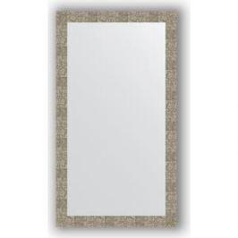 Зеркало в багетной раме поворотное Evoform Definite 76x136 см, соты титан 70 мм (BY 3308)
