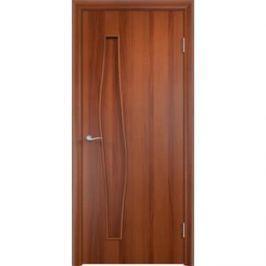 Дверь VERDA Тип С-10(г) глухая 2000х450 МДФ финиш-пленка Итальянский орех