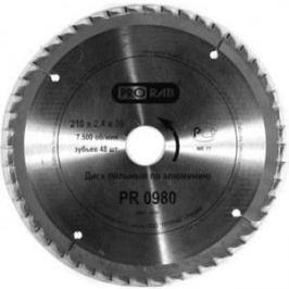 Диск пильный Prorab 210х30мм 48зубьев (PR0980)
