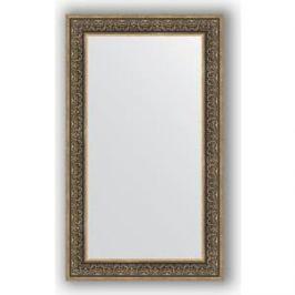 Зеркало в багетной раме поворотное Evoform Definite 73x123 см, вензель серебряный 101 мм (BY 3224)