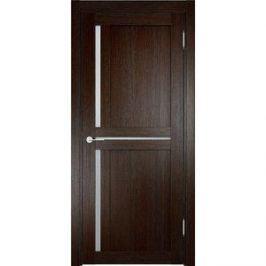 Дверь ELDORF Берлин-1 остекленная 1900х600 экошпон Дуб темный
