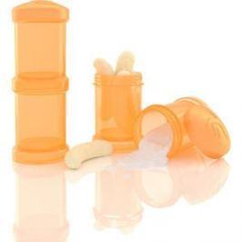 Twistshake Контейнер для сухой смеси 2 шт. 100 мл. Оранжевый (780025)