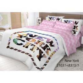 Комплект постельного белья Волшебная ночь Семейный, ранфорс, New York (702186)