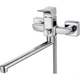 Смеситель для ванны Kaiser Clever L-40 cm с душем, хром (76055)