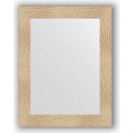 Зеркало в багетной раме поворотное Evoform Definite 70x90 см, золотые дюны 90 мм (BY 3181)
