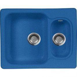Кухонная мойка AquaGranitEx M-09 610х495 синий (M-09 (323))