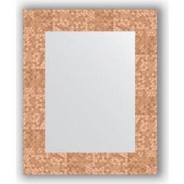 Зеркало в багетной раме Evoform Definite 43x53 см, соты медь 70 мм (BY 3018)