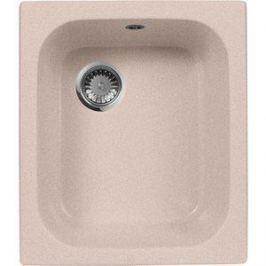 Кухонная мойка AquaGranitEx M-17 420х485 розовый (M-17 (315))