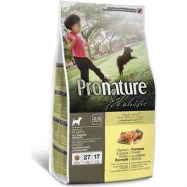 Сухой корм Pronature Holistic Puppy Growth Chicken & Sweet Potato Formula c курицей и сладким картофелем для щенков всех пород 2,72кг (102.2011)