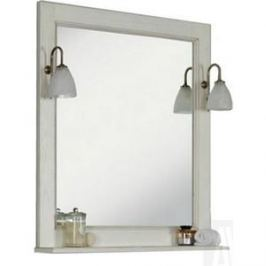 Зеркало Акватон Жерона 105 белое серебро (1A158802GEM20)