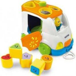 Развивающая игрушка WEINA музыкальный сортер Микроавтобус 2071