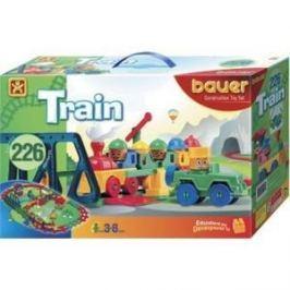 Конструктор Bauer серии Железная дорога 200 эл 12/12 (255)