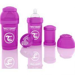 Twistshake Антиколиковая бутылочка для кормления 180 мл. Фиолетовая (780005)