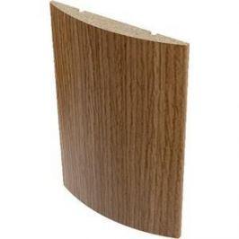 Наличник VERDA МДФ полукруглый облицованный шпоном 2150х70х10 мм (5 шт) Орех