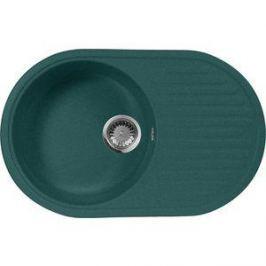 Кухонная мойка AquaGranitEx M-18 730х460 зеленый (M-18 (305))