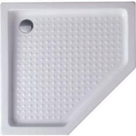 Душевой поддон Cezares 100x100x15 см акриловый пятиугольный (TRAY-A-P-100-15-W )