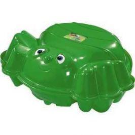 Песочница с крышкой KHW Пчёлка зеленый 72014