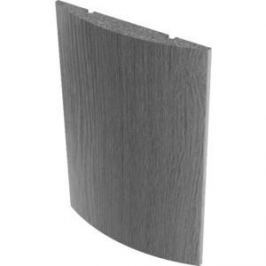 Наличник VERDA МДФ полукруглый шпон 2140х65х12 мм (комплект 5 шт) Снежный дуб