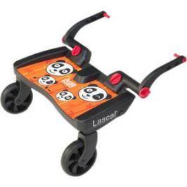 Подножка Lascal (Ласкал) для второго ребенка Buggy Board Maxi Panda Jungle Orange 2760