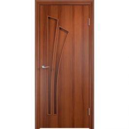 Дверь VERDA Тип С-7(г) глухая 1900х600 МДФ финиш-пленка Итальянский орех