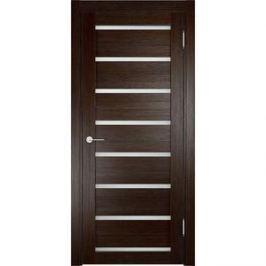 Дверь ELDORF Мюнхен-5 остекленная 2000х700 экошпон Дуб темный