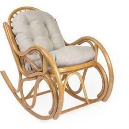 Кресло-качалка Мебель Импэкс Bella мёд с подушкой