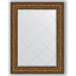 Зеркало с гравировкой поворотное Evoform Exclusive-G 80x108 см, в багетной раме - виньетка состаренная бронза 109 мм (BY 4212)