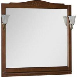 Зеркало Aquanet Амелия 100 орех, массив бука (175289)