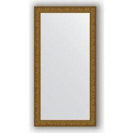 Зеркало в багетной раме поворотное Evoform Definite 54x104 см, виньетка состаренное золото 56 мм (BY 3071)