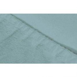 Простыня Ecotex махровая на резинке 140х200х20 см (ПРМ14 голубой)