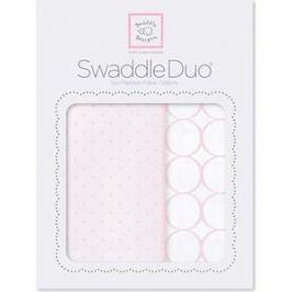 Набор пеленок SwaddleDesigns Swaddle Duo PP Dot/Mod Circle (SD-472PP)