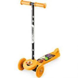 Самокат 3-х колесный Small Rider Cosmic Zoo Scooter Оранжевый (1233592/цв 1233600)