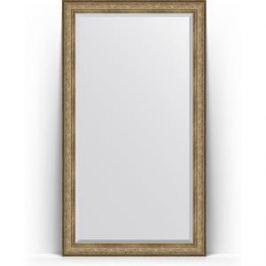 Зеркало напольное с фацетом поворотное Evoform Exclusive Floor 115x205 см, в багетной раме - виньетка античная бронза 109 мм (BY 6175)