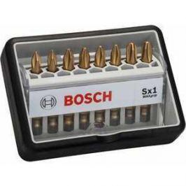 Набор бит Bosch х49мм PH1/PH2/PH3 8шт Max Grip Robust Line (2.607.002.570)