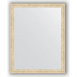 Зеркало в багетной раме поворотное Evoform Definite 73x93 см, слоновая кость 51 мм (BY 1040)
