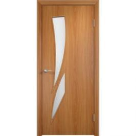 Дверь VERDA Тип С-2(о) остекленная 2000х900 МДФ финиш-пленка Миланский орех