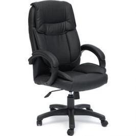 Кресло TetChair OREON кож/зам черный/черный перфорированный 36-6/36-6/06