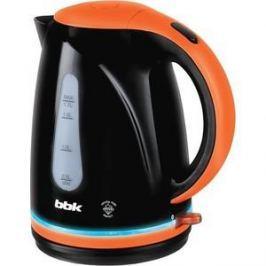 Чайник электрический BBK EK1701P черный/оранжевый
