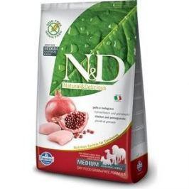 Сухой корм Farmina N&D Adult Dog Medium GF Chicken & Pomegranate беззерновой с курицей и гранатом для собак всех пород 2,5кг (20147)