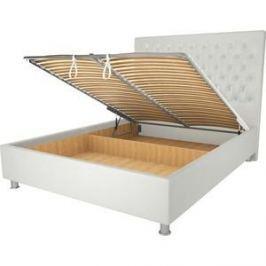Кровать OrthoSleep Рио механизм и ящик белый 120х200