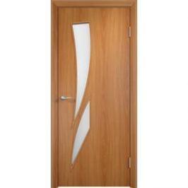 Дверь VERDA Тип С-2(о) остекленная 2000х400 МДФ финиш-пленка Миланский орех