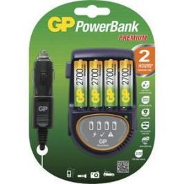 Зарядное устройство и аккумулятор GP PowerBank PB50GS270CA + car cord + 2700mAh AA 4шт.