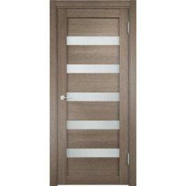 Дверь ELDORF Мюнхен-3 остекленная 1900х550 экошпон Дуб дымчатый