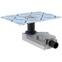 Душевой трап Geberit CleanLine в комплекте с решеткой, для стяжки пола от 90 мм (154.050.00.1)