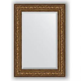 Зеркало с фацетом в багетной раме поворотное Evoform Exclusive 70x100 см, виньетка состаренная бронза 109 мм (BY 3453)