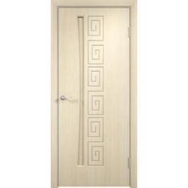 Дверь VERDA Омега глухая 2000х900 ПВХ Дуб белёный