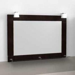 Зеркало Меркана Гермес 75 см светильник декоративный 2шт венге (26091)
