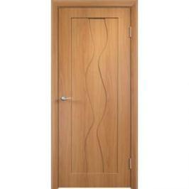 Дверь VERDA Вираж глухая 2000х700 ПВХ Миланский орех