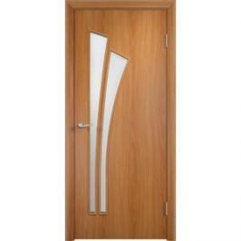 Дверь VERDA Тип С-7(о) остекленная 1900х550 МДФ финиш-пленка Миланский орех
