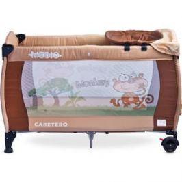 Манеж-кровать Caretero Medio Classic beige бежевый (TERO-382)